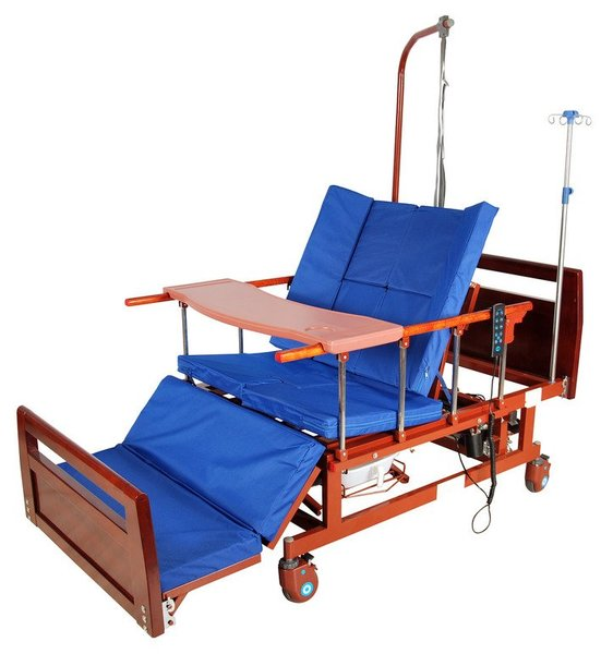 Кровать электрическая Belberg-11A-121Н (ЛДСП) 5 функций, с туалетным устройством