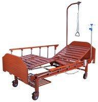 Кровать с электроприводом Belberg 7-2028Н-10, (7-077Н),2 функц, ЛДСП Венге,(без матраса)