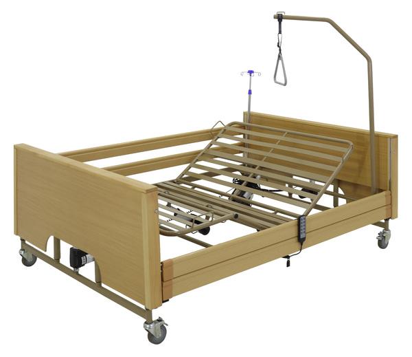 Кровать электрическая YG-1 (КЕ-4024М-23)ЛДСП5функций (200*140 см) с матрасом