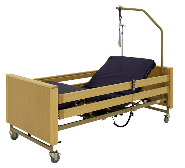 Кровать электрическая Мед-Мос YG-1 (КЕ-4024М-21) ЛДСП 5 функций (ложе 200*90) с матрасом