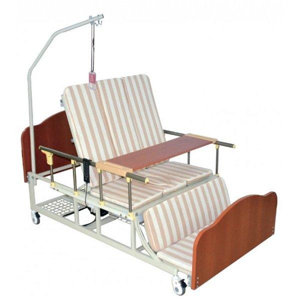 Кровать функциональная электрическая с туалетным устройством Медицинофф FD-3