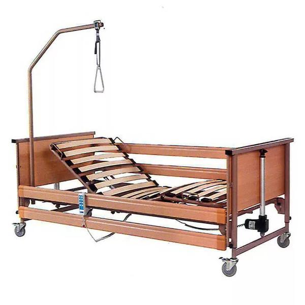 Кровать MET TERNA Economic медицинская функциональная с регулировкой высоты, электрический привод (ложе 200*90см)
