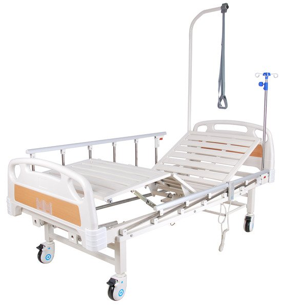 Кровать функциональная с электроприводом Belberg 7-2018Н-00 (7-77H) без матраса, пластик