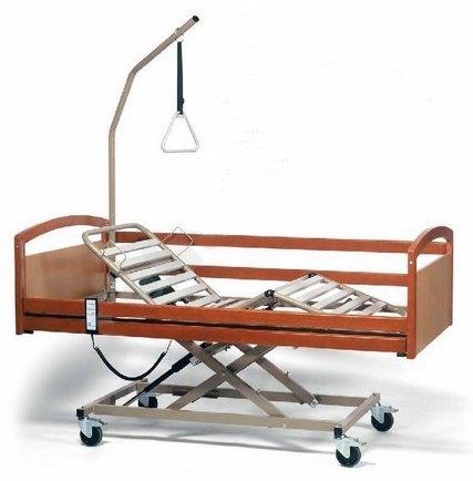 Кровать функциональная электрическая 3-х секционная Vermeiren INTERVAL (в комплекте с матрасом)