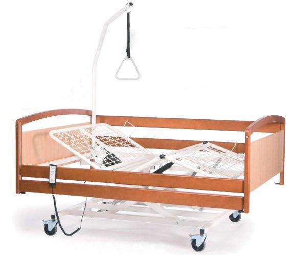 Кровать функциональная электрическая 4-х секционная Vermeiren INTERVAL XXL ложе 140 см, в комплекте с матрасом