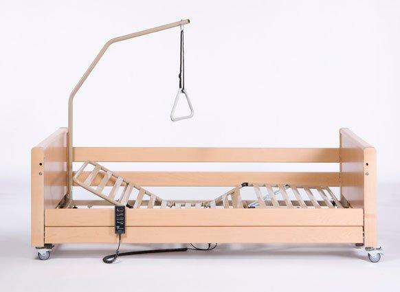 Кровать функциональная 4-х секционная электрическая Vermeiren LUNA X-low с матрацем